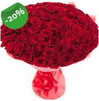 Özel mi Özel buket 101 adet kırmızı gül  Artvin anneler günü çiçek yolla