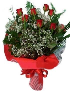 7 kırmızı gül buketi  Artvin çiçek servisi , çiçekçi adresleri