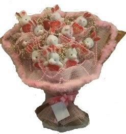 12 adet tavşan buketi  Artvin çiçek mağazası , çiçekçi adresleri