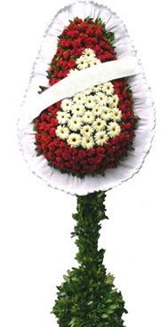 Çift katlı düğün nikah açılış çiçek modeli  Artvin İnternetten çiçek siparişi