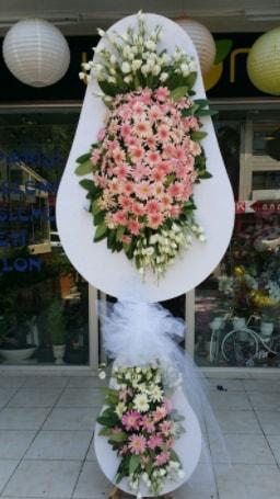 Çift katlı özel şahane sepet çiçeği  Artvin çiçekçi telefonları