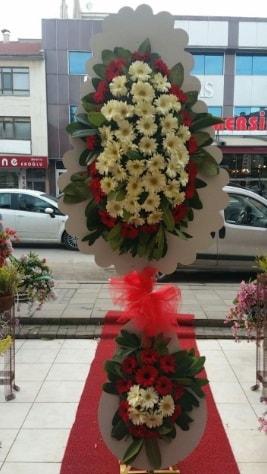 Çift katlı düğün açılış çiçeği  Artvin çiçek satışı