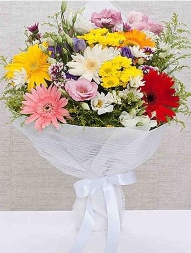 Karışık Mevsim Buketleri  Artvin ucuz çiçek gönder