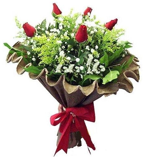 5 adet gülden buket  Artvin çiçek gönderme sitemiz güvenlidir