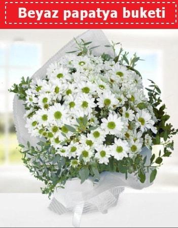 Beyaz Papatya Buketi  Artvin 14 şubat sevgililer günü çiçek